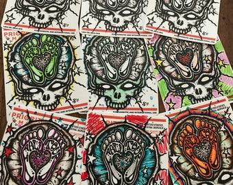 Hand Doodled Fall Tour Sticker! Grateful Dead & Company Commemorative Decal