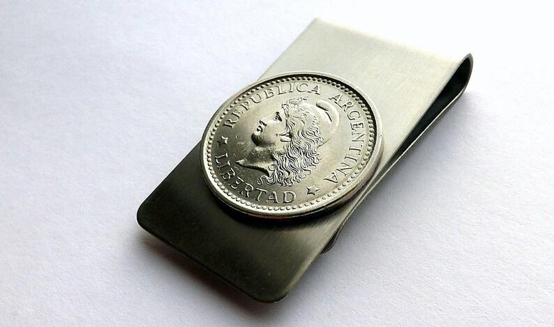 Argentina Coin Money Clip
