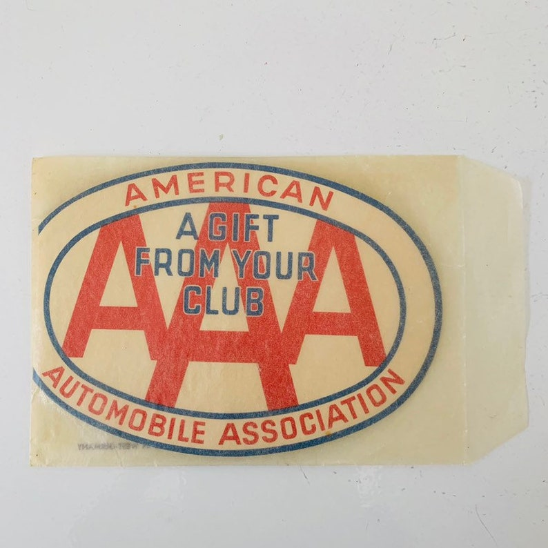 Vintage AAA Travel Sewing Kit - Made in West Germany Automobile Travel  Advertising Mending Kit Like New