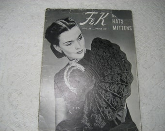 F&K Bags, Hats, Mittens Pattern Book Vol 25