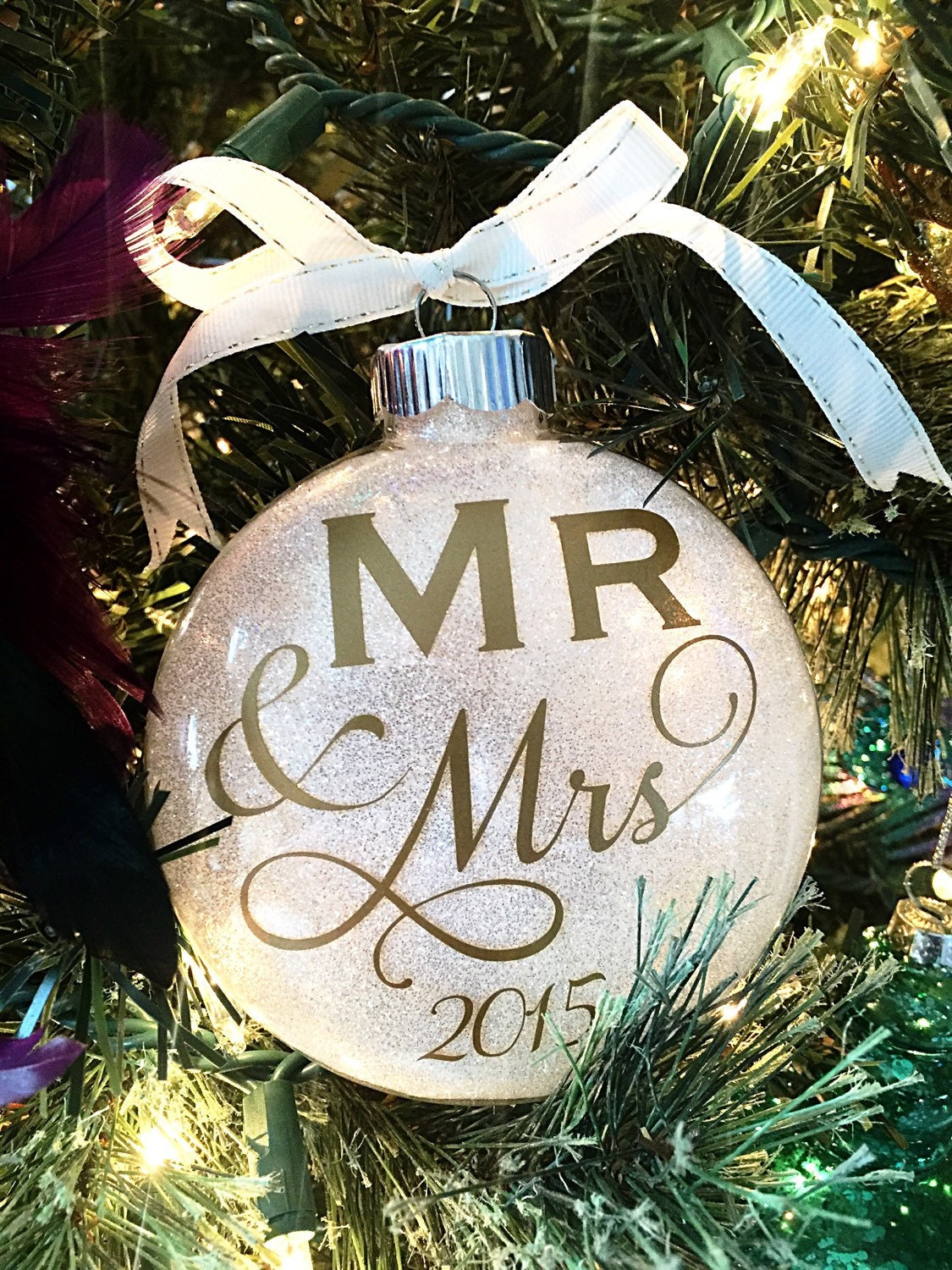 Our First Christmas Ornament Wedding Present Bridal Shower ...