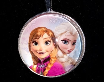 Disney's Frozen Anna and Elsa Pendant