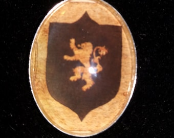 Game of Thrones House Lannister Large Pendant