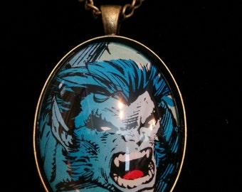 Marvel X-Men Beast Large Pendant