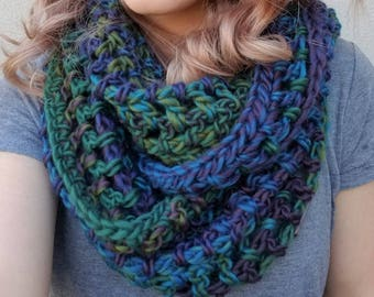 Ready to Ship - Multi Color Double Wrap Scarf