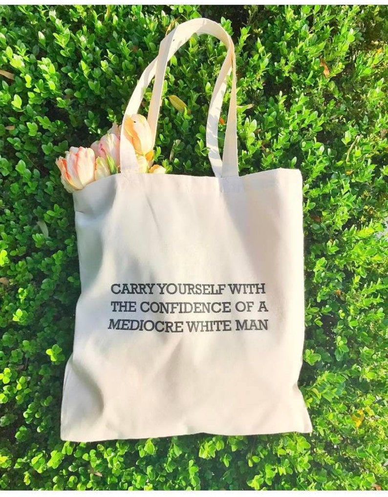 Confidence Tote Bag image 0