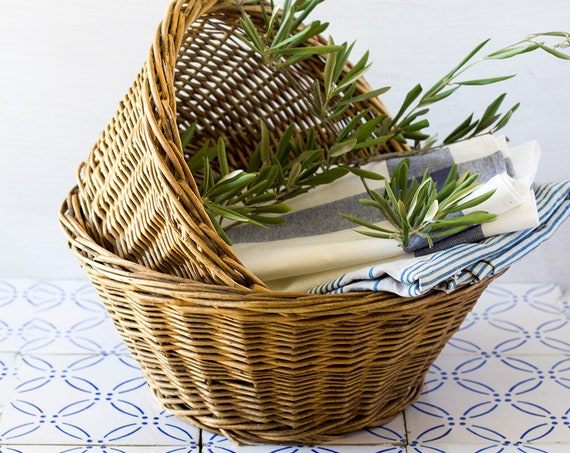 French Nesting Baskets - set of 2