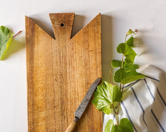 Vintage French Petite Cutting Board