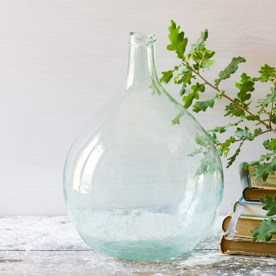 French Blue Demijohn