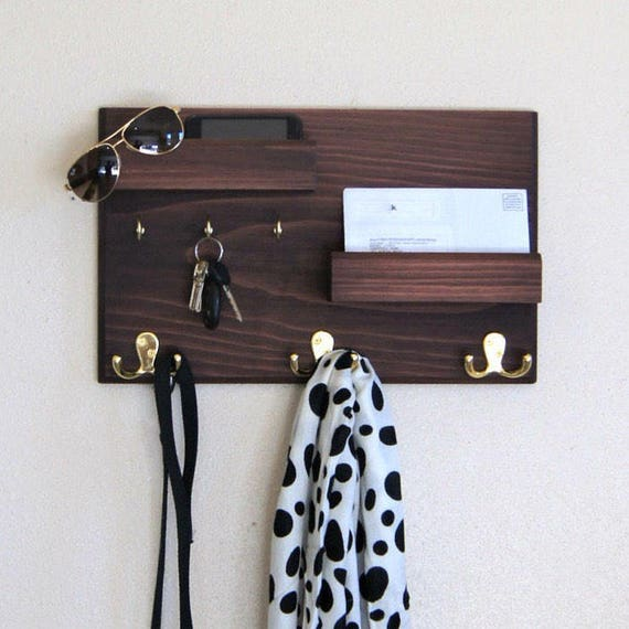 rack porte cl flottant corniches mail porte t l phone etsy. Black Bedroom Furniture Sets. Home Design Ideas