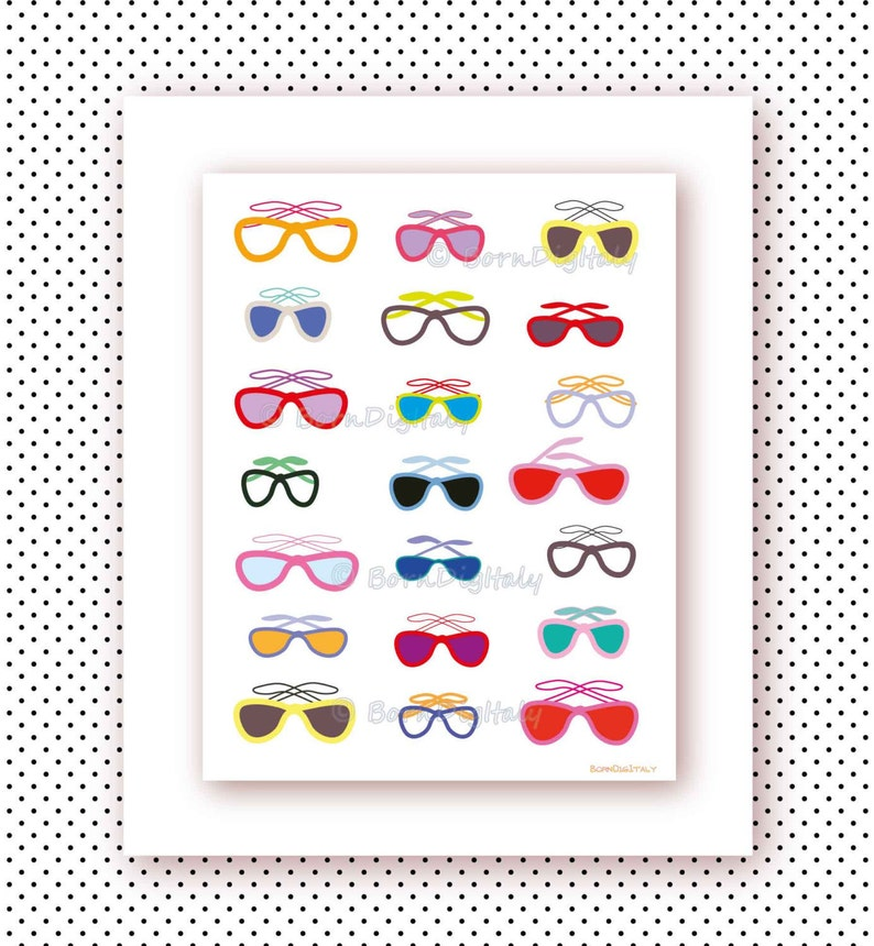 picture regarding Sunglasses Printable called Sungles Electronic Poster,Design Wall Decor, Printable Colors,Teenager Gals House, Business office Decor, Ilustration,Faculty Dorm Wall Artwork, Fashionista