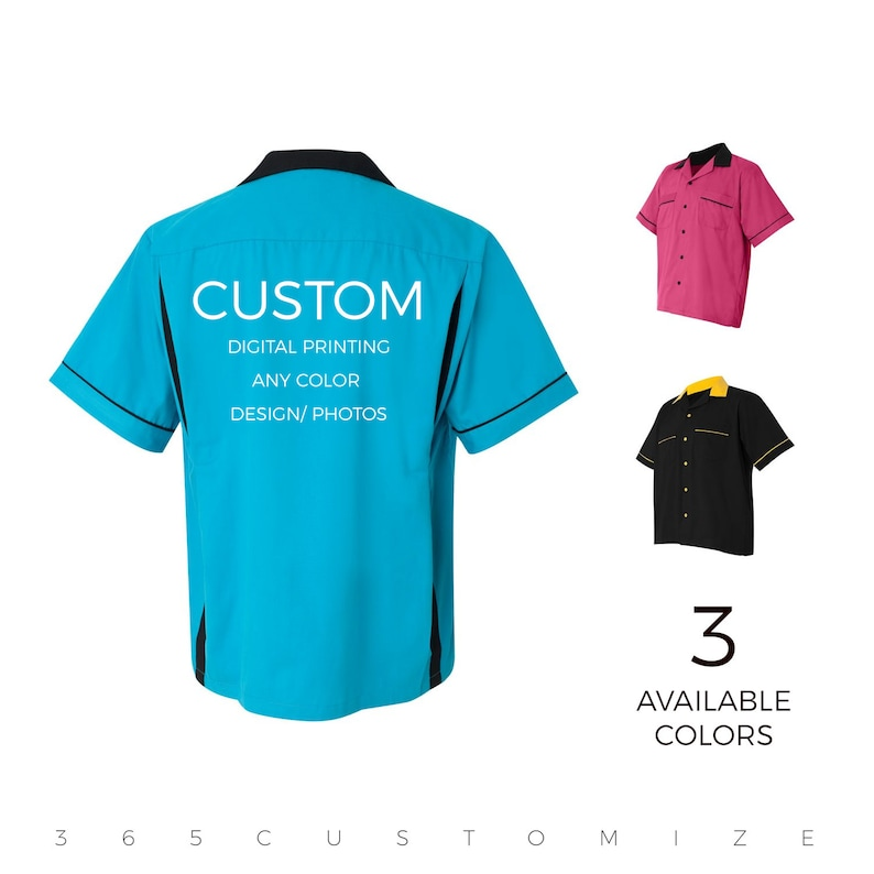 11be1037f6b57 Bowling Shirt - Personalize & Design Your Own Bowling Shirt