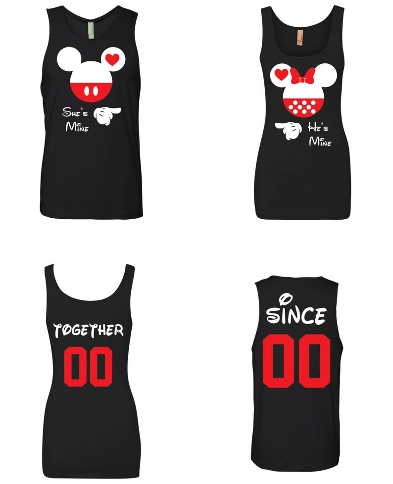 87be964d02dfc She s Mine He s Mine Couple Matching Couple Tank Top