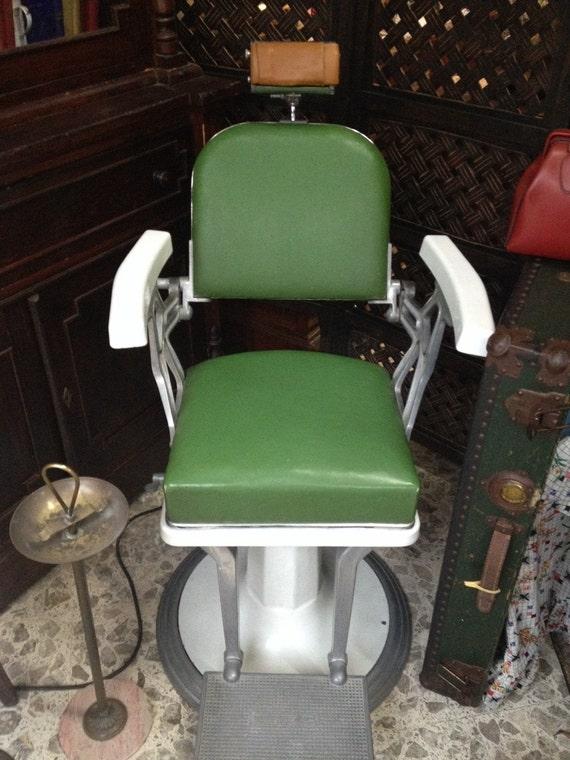 Coppia di sedie da barbiere | Etsy