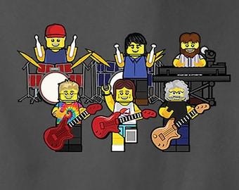 Grateful Dead T Shirt / Dead and Co Shirt / Lot Shirt for Kids & Adults / Jerry Garcia Shirt / Lego Bob Weir JGB Steal Your Face Shirt