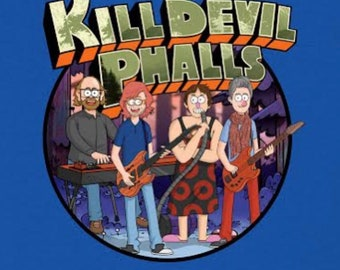 Phish Shirt / Phish Kid Lot Shirt / Kill Devil Phalls / Trey Gordon Page Fishman Donuts / NOT a Phish Mask Sticker Print Tour / Little Rager