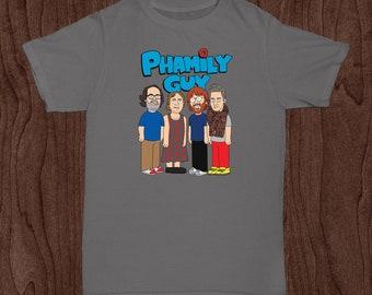 Phish Shirt / Phish Kid Lot Shirt / Phamily Guy / Trey Gordon Page Fishman Donuts / NOT a Phish Mask Sticker Print Tour / Little Rager