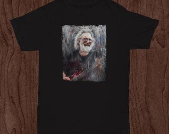 Jerry Garcia SHIRT by ORIGINAL Artist / Grateful Dead T Shirt / Dead and Co Shirt  / Bob Weir Phil Lesh JGB Steal Your Face Shirt
