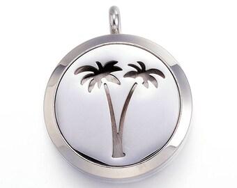 Floating Charms Mini Palm Tree Charm for Glass Memory Locket Pendants