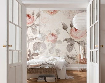 Popular Items For Floral Wallpaper
