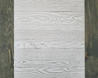 Peel And Stick Charcoal Grey Shiplap Rustic Wood Plank Farmhouse Wallpaper Gray NU2240