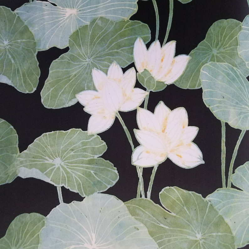 Roommates Lily Pads Peel and Stick Black and Green Wallpaper RMK11245RL