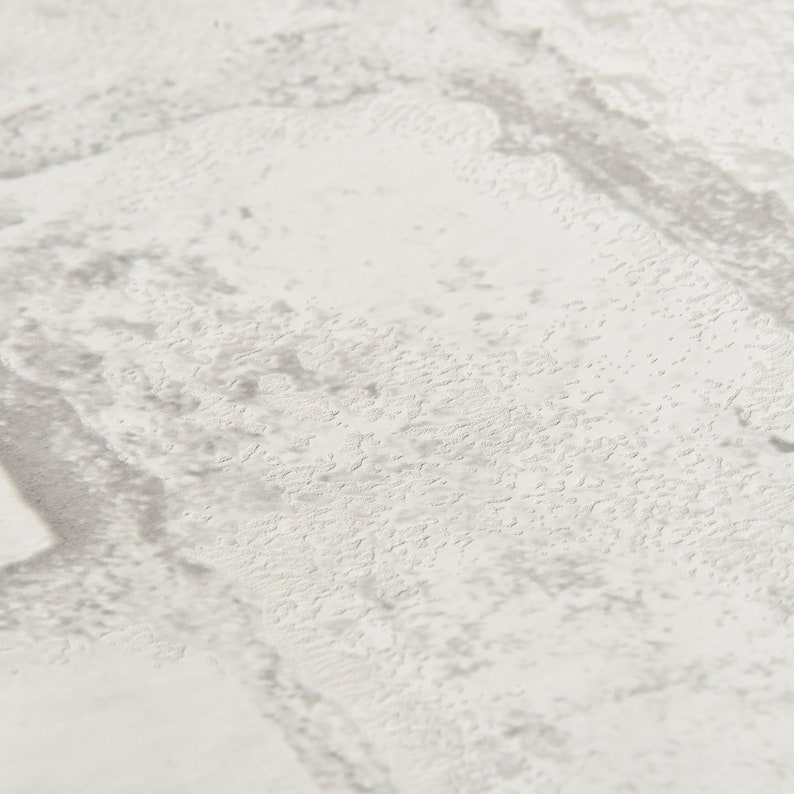 Loft White Texture Brick Peel and Stick Modern Industrial Farmhouse Wallpaper NU2218