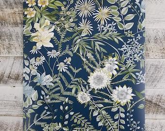 Brewster A Street Prints Full Bloom Navy Blue Floral Wallpaper Yellow Green Diy SCH12902