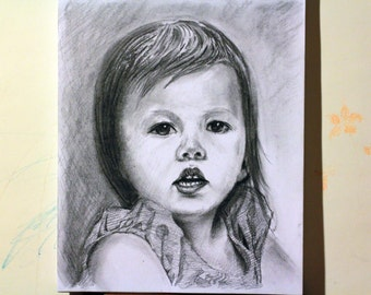 Custom Hand Drawn Portrait From Photos