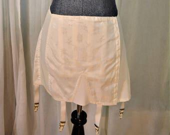 LX 50's Rengo Girdle Garter Belt  Size 36