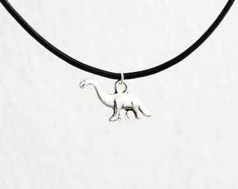 Dinosaur necklace, choker