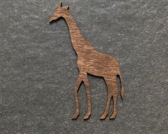 Stained Laser Cut Giraffe