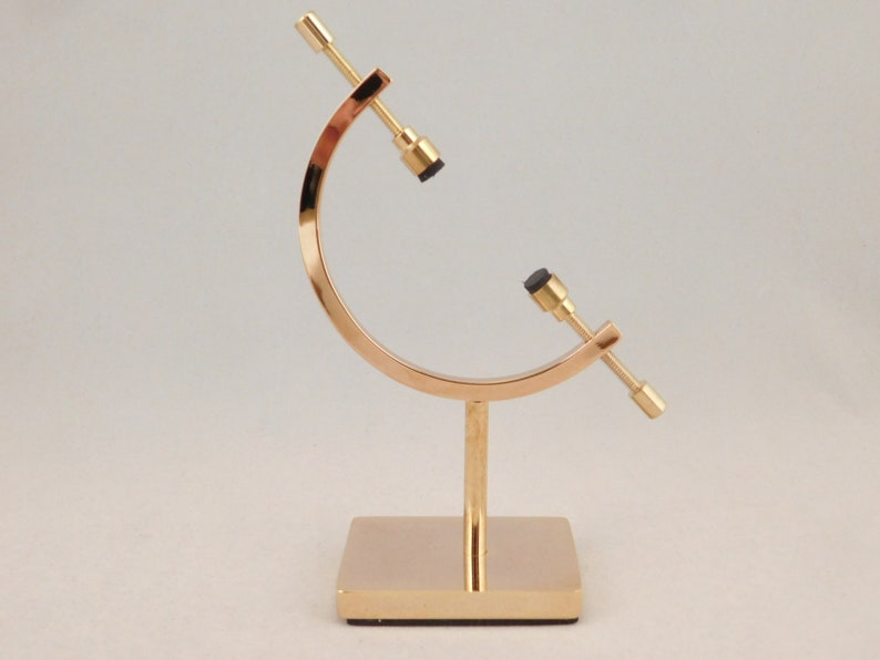 One SMALL Sized Brass CALIPER Display Stand for Meteorites image 0