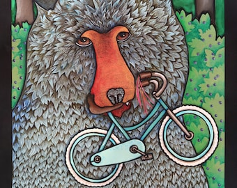 A Bear Ate my Bicycle