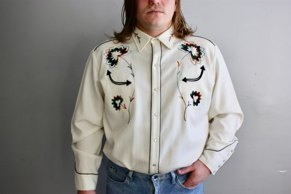 70's California Cowboy Shirt
