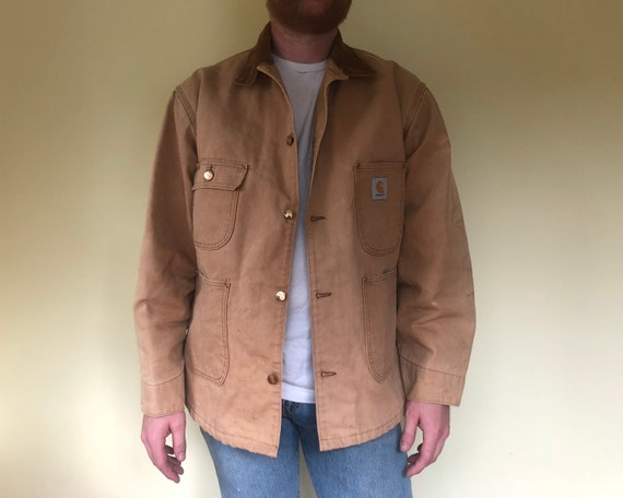 Classic Carhartt Work Lined Jacket.