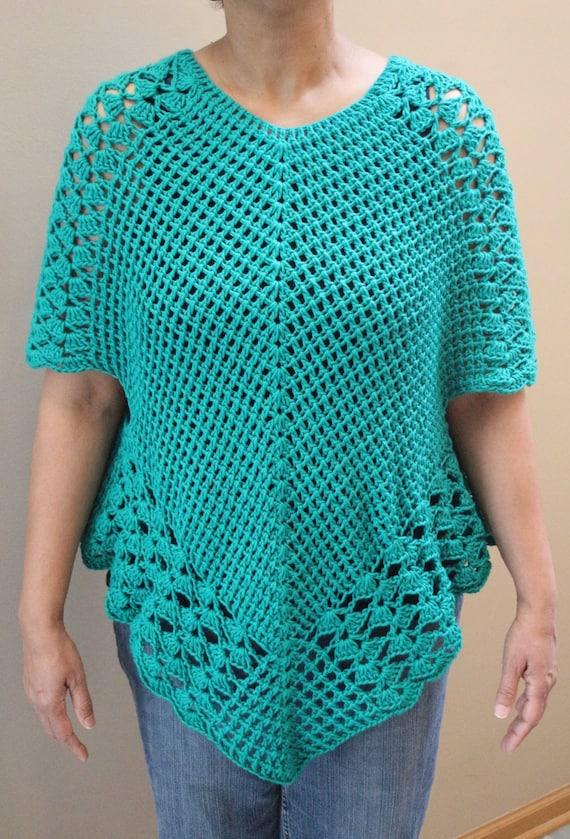 Crochet Poncho Top Pattern Poncho Top Pattern Crochet Poncho With Sleeves Crochet Poncho Pattern Boho Poncho Pattern Amazing Crochet Poncho Pattern