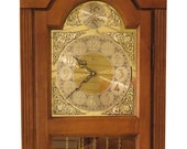 46377EC RIDGEWAY Narrow Tall Case Grandfather Hall Clock