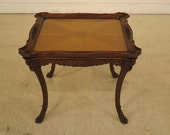 40131E Vintage 1920 s Inlaid Walnut French Style Coffee Table