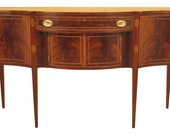 46687EC POTTHAST BROS. Federal Inlaid Mahogany Sideboard
