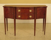 29989EC HICKORY CHAIR CO. Federal Inlaid Mahogany Sideboard