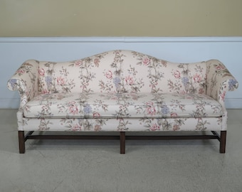 44337EC: PENNSYLVANIA HOUSE Chippendale Stretcher Base Maple Sofa