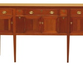 46676EC CRAFTIQUE Federal Mahogany Sideboard w. Wine Drawers