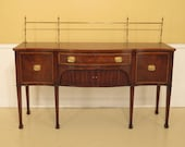 45313EC OLD COLONY Federal Mahogany Sideboard w. Gallery