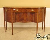 28820E HENREDON Natchez Collection Inlaid Mahogany Sideboard