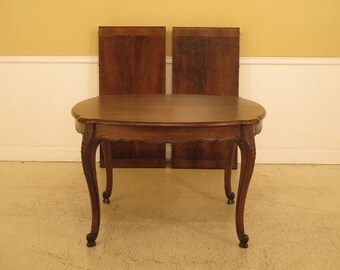 LF45573EC: JOHN WIDDICOMB French Louis XV Walnut Small Dining Table