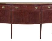 47111EC BIGGS Large Federal Style Inlaid Mahogany Sideboard