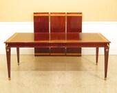 45687EC KINDEL Mahogany Neoclassical Dining Room Table