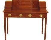 46672EC KITTINGER BIGGS Federal Inlaid Mahogany Ladies Writing Desk