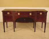 L25259E SMITH WATSON Fine Quality Inlaid Mahogany Sideboard